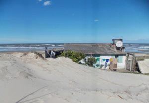 O movimento das dunas colocaria em risco a vida e a saúde das pessoas