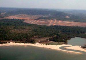 area-desmatada-as-margens-da-rodovia-Fernando-Guilhon-e-de-186-Hectares