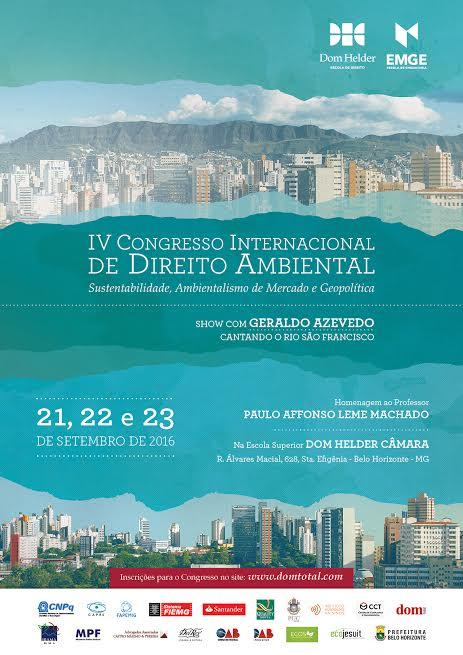 IV Congresso de Direito Ambiental
